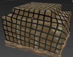 game-ready Airport Cargo Pack - 11 Models