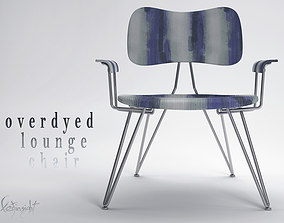 3D model Overdyed Lounge Chair