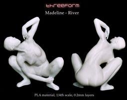 3D print model Madeline - River pose