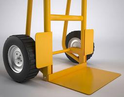 Sack Truck 1 3D Model