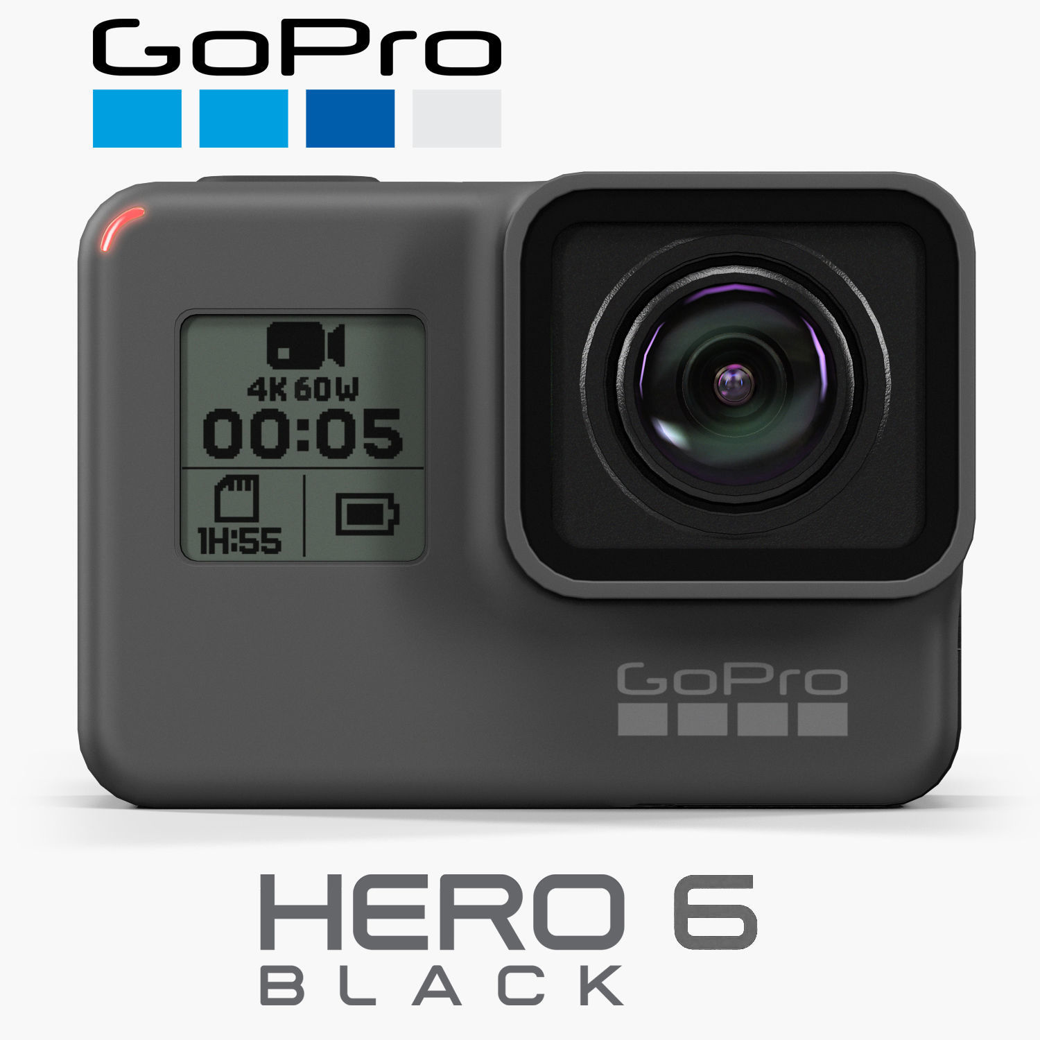 GoPro Hero6 Black action camera