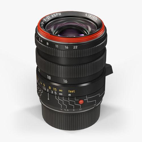 Leica Tri-Elmar-M 16-18-21mm f 4 ASPH lens