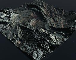 Inhospitable planet in Vue 3D