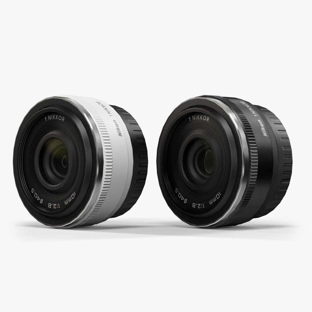 Nikon 1 Nikkor 10mm f 2-8 Lens