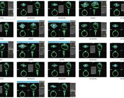 bulk rings-0016-3dm with stones-23 files