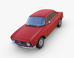 3D model Alfa Romeo GTA