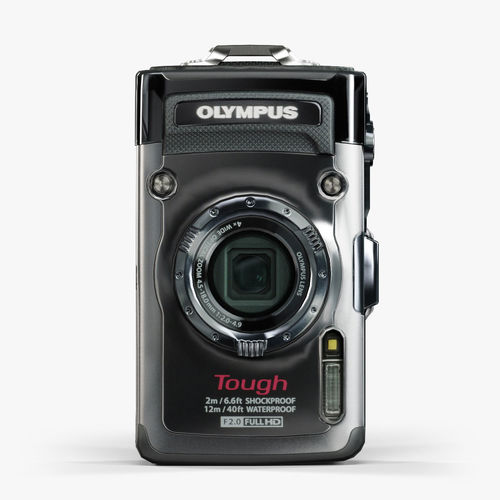 Olympus Tough TG-1 iHS Silver rugged and proof digital camera