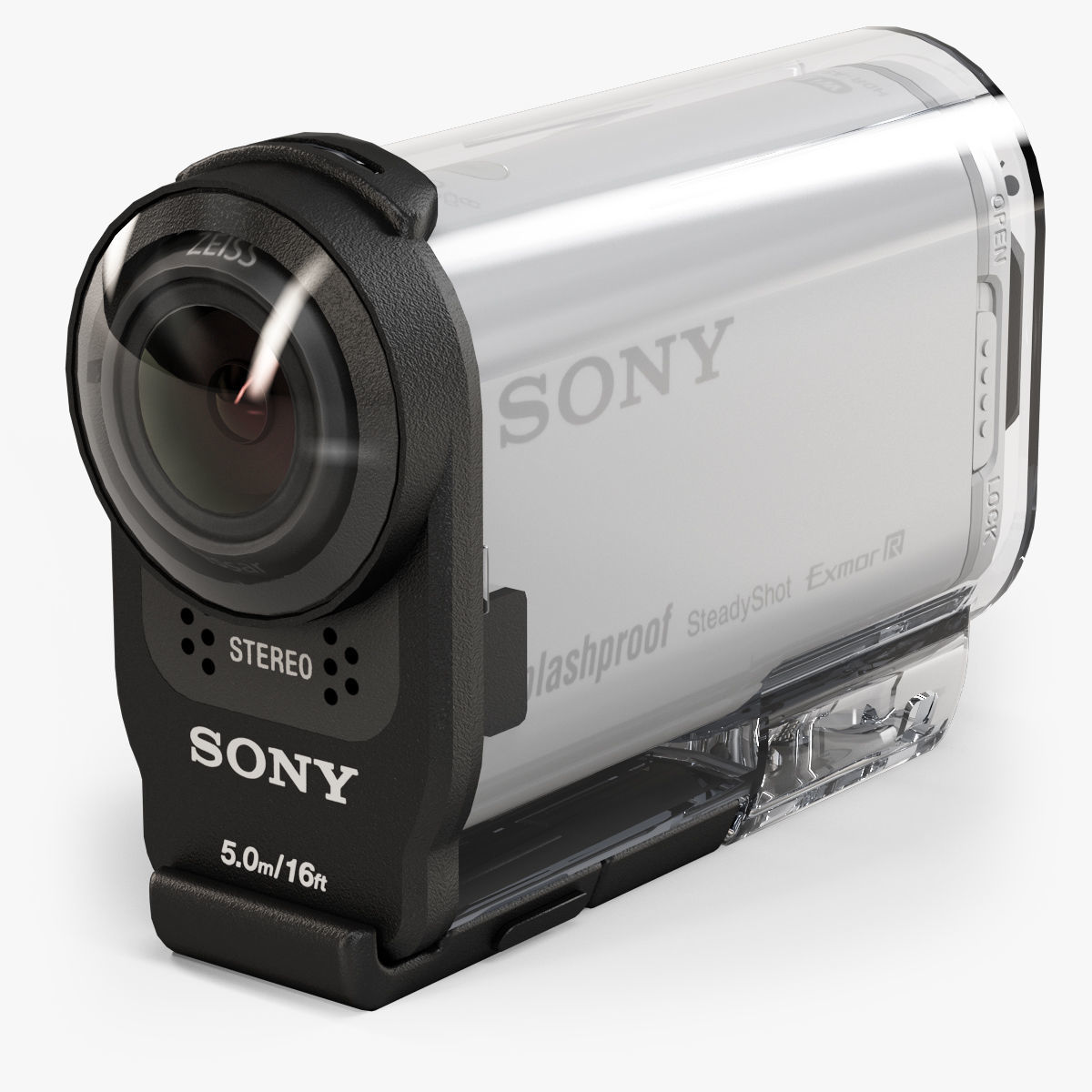 Sony HDR-AS200V action camera with Case