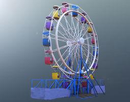 ferris 3D model Ferris wheel