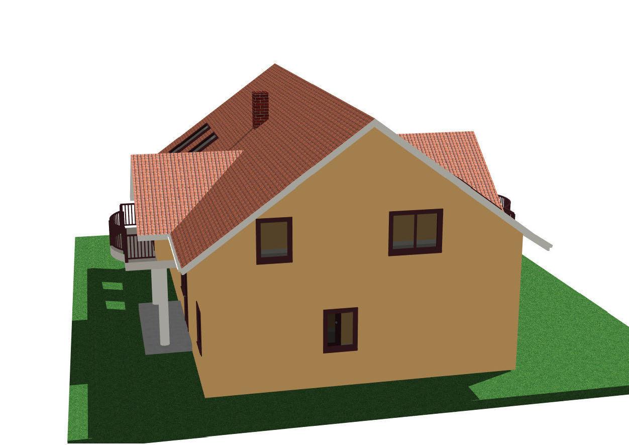 Home with attic - Casa parter cu mansarda free 3D Model PDF ...