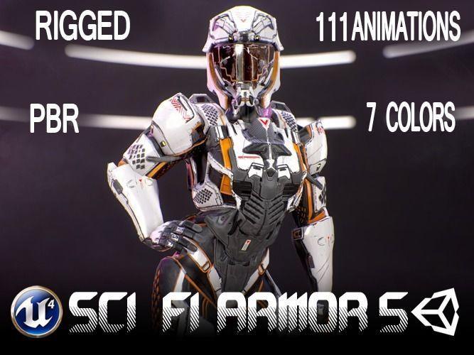 Sci-Fi Armor 10