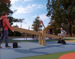 3D Galopin B109B playground