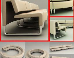 3D model Path Sofa Collection Dorigo