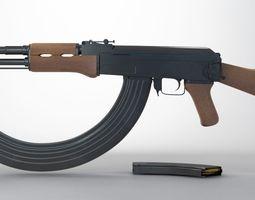 3D model Ak-47 Round