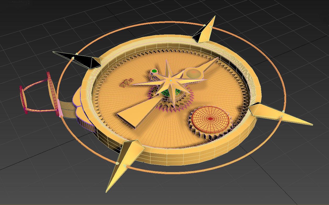 Ancient Golden Compass