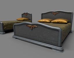 classic beds 3d model