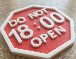 Fridge magnet 3D print model