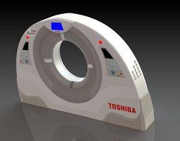 toshiba ct scan machine enclosure design 3d