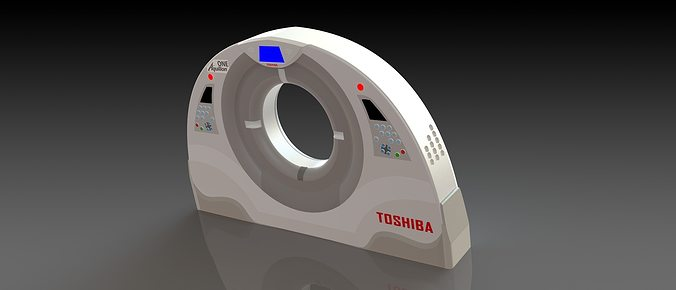 toshiba ct scan machine enclosure design 3d model stl sldprt sldasm slddrw ige igs iges 1