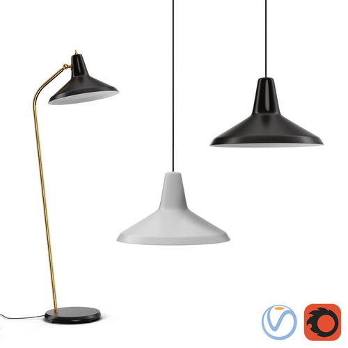 Gubi Lampadaire G10 Floor And Ceiling Lamps Model