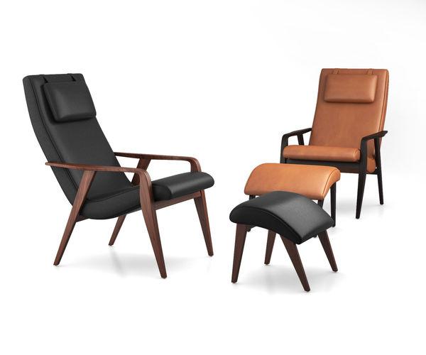 contour mid-century leather chair by west elm 3d model max obj mtl tga 1