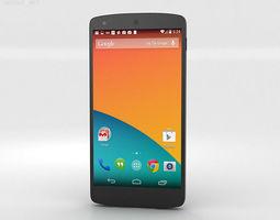 google nexus 5 3d model max obj 3ds fbx c4d lwo lw lws