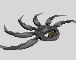 Shuriken Weapon Predators 3D printable model