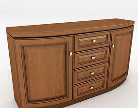 3D model k09 chest of drawers