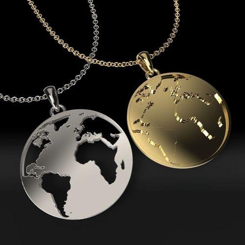 earth pendants