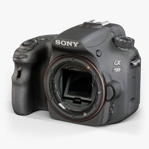 Sony SLT-A58 DSLR camera