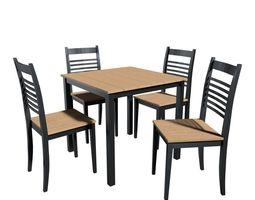 houseware 3D model dinner table
