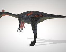 3D model rigged Gigantoraptor