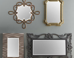 Mirror Collection Set 05 3D