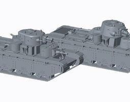 accessories 3d model tank t-34 t-35 t-34-76e turret new