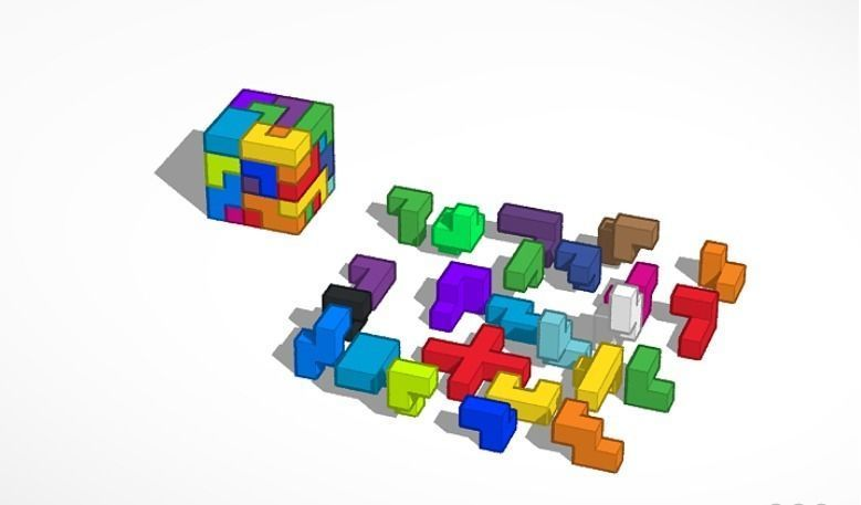 Homemade Puzzle Cube
