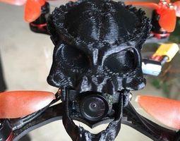 Babyhawk R Predator Alien Skull Drone 3D printable model