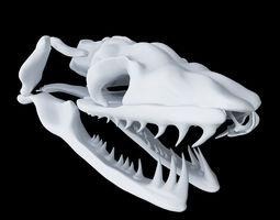 3D printable model Skull Snake - Aglyphous