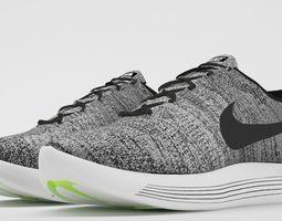 Nike LunarEpic Low Flyknit 2 3D asset