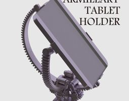 Armillary Tablet Holder 3D print model