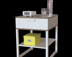 3D IKEA trysil bedside table