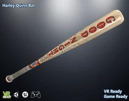 Harley Quinn Bat 3D asset