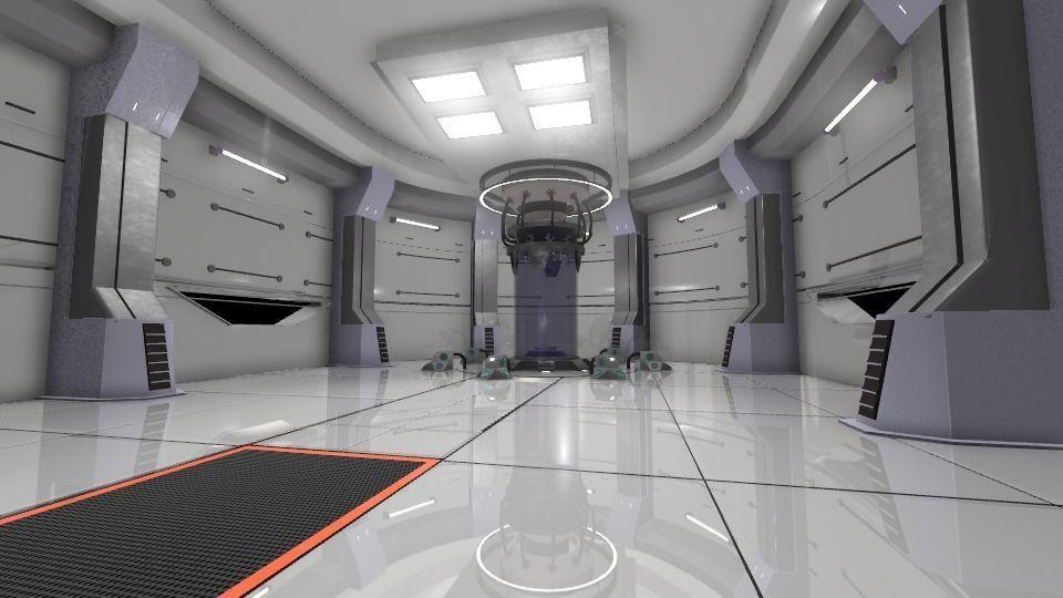 Simple Sci-fi Room | 3D model