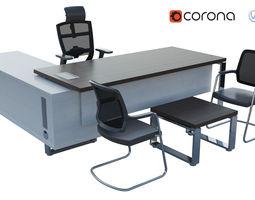 interstuhl Office Desk 3D
