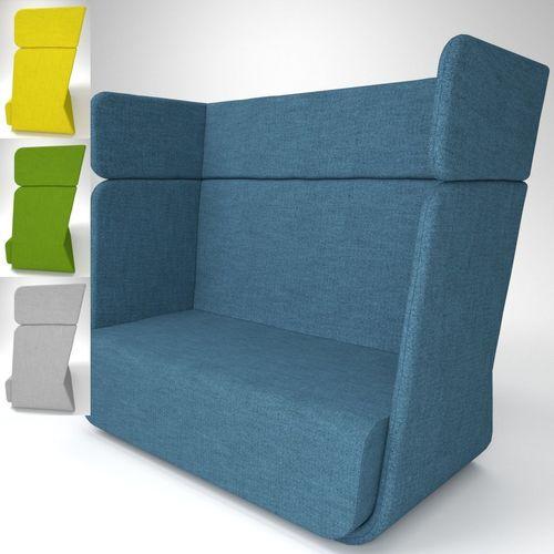 soft line basket sofa blender cycles 3d model obj fbx blend mtl pdf 1