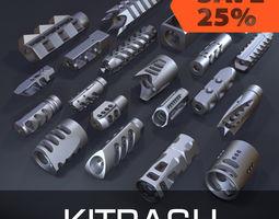 3D model Compensators kitbash bundle