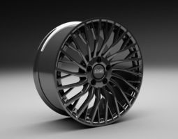 3d oz concept sportscar wheel