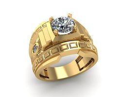 503 Luxury Diamond Ring for 3D printable model