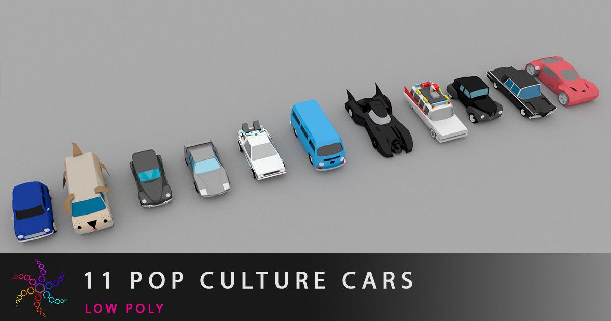11 pop culture cars