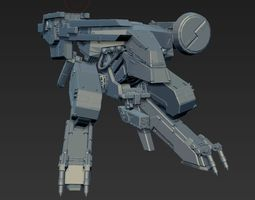 3D printable model Metal Gear REX