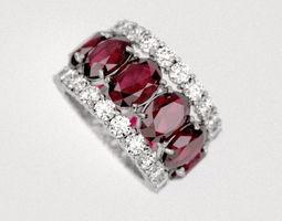 3D print model Ruby-ring